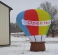 Hot Air Balloon Sign