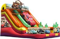 Cars Double Lane Slide - $260